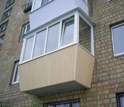остекление балконов в Уфе