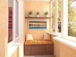 Внутренняя отделка балконов и лоджий в Уфе